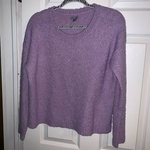 Aerie Lavender Cropped Sweater